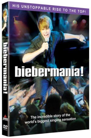 Movie poster of Justin Bieber's - Biebermania